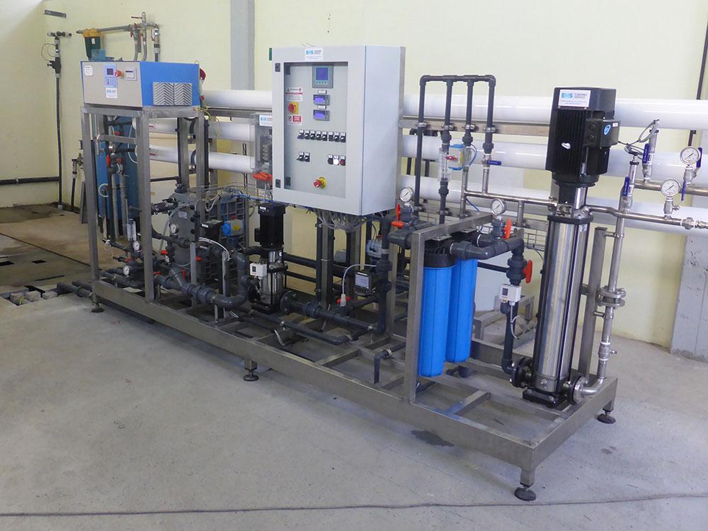 Lavoro trattamento acque