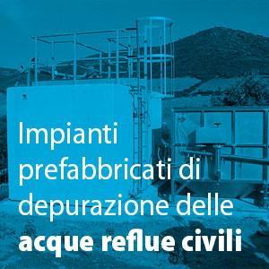 Impianto di depurazione acque reflue civili